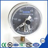 150mm 전자 높은 산출 최고 가격을%s 가진 전기 접촉 압력 계기