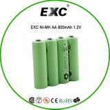 ExcniMh AA NI Battery 800mAh 1.2V