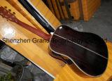 Incrustation de l'arbre de vie de l'épinette D45 en bois solide de la guitare acoustique (D45)