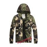 남자 Camouflage Light Outdoor Spring 또는 Autumn Fashion Jacket Coat (J-1601)