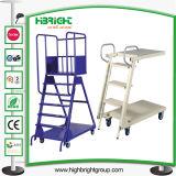 Plateformのスーパーマーケットの使用のためのステップ梯子