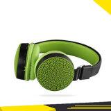 Fone de ouvido Bluetooth crack com cartão micro SD FM e suporte