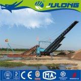Julong Dragueur D'or de Chapelet Hydraulique pour L'extraction de L'or/ L'or Minière Machine