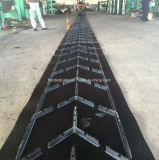 Cylinder PatternのシェブロンRubber Conveyor Belt