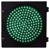 300mm 녹색 둥근 교통 신호 빛