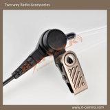 Il ricevitore telefonico trasparente del tubo con 3.5mm Jack ascolta soltanto