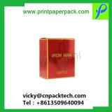Couleur personnalisée imprimé le pliage de l'artisanat de qualité alimentaire cosmétique boîte cadeau de papier de parfum, huile essentielle de l'emballage présentoir, bouteille de vin de cigarettes Boîte d'emballage de stockage