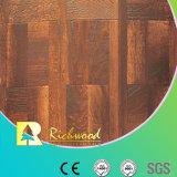 12.3mm E0 HDF AC4 Texture Woodgrain noyer Laminbate planchers étanches