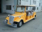 Automobile classica elettrica di divertimento della sede di bianco 8