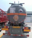 25000л сдерживая сарказм / соляной кислотой / Muriatic кислоты углеродистой сталитанкер Полуприцепе