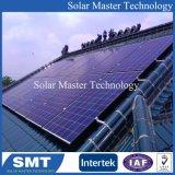 Justierbare Solarhauptmontierungs-SolarStromnetz auf flachem Dach