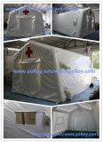 Alívio da almofada insuflável tenda de Emergência Médica usadas como abrigos de emergência
