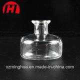 Frasco de vidro redondo de refrogerador de ar