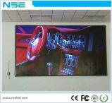 A elevação de RoHS P4mm do Ce refresca o indicador de parede video do diodo emissor de luz da taxa