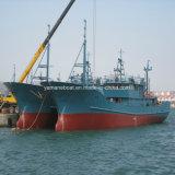 46m глубоководных кормовой огонь из стали с плавным регулированием скорости рыболовного судна с морозильной камерой