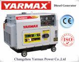 고품질 디젤 엔진 OEM 공급을%s 가진 Yarmax 방음 삼상 5kVA 6kw 디젤 엔진 Genset