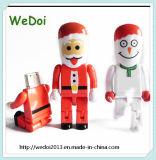 Cadeau de Noël Santa Claus forme lecteur Flash USB (WY-PL86)