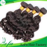 Волосы человеческих волос 100% Remy оптовой цены малайзийские