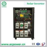 Inversor híbrido trifásico da potência solar do inversor do sistema solar 60kVA 48kw