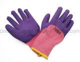 Перчатки безопасности пользы зимы пены латекса