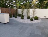 Outdoor Driveway bloc de granite Paving Stone Cabble