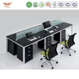 사무실을%s 분할을%s 가진 현대 사무용 가구 사무실 워크 스테이션