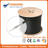 75ohm CCTV와 CATV Low Db Loss RG6 Coaxial Cable