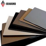 4ft*8ft 4mm de pared exterior pintura PVDF revestimiento de aluminio