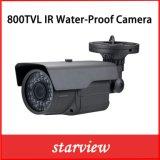 Camera van de Veiligheid van de Kogel van kabeltelevisie van de Lens van het toezicht 800tvl IRL Varifocal de Waterdichte (W25)