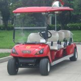 Carro de golf eléctrico del coche del club de los pasajeros del CE 6 de Marshell (DG-C6)