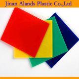 """1/8 """" di strato di plastica acrilico del plexiglass di colore"""