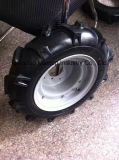폴란드 Market를 위한 Penumatic Wheel Barrow Wheel/400-8 Rubber Wheel