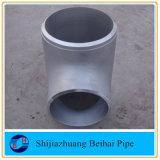 ステンレス鋼の管付属品のまっすぐなティーB16.9