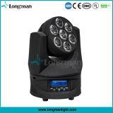 Lumière mobile de têtes de faisceau de DMX 105W RGBW 4 in-1 DEL mini