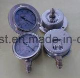 Termometro bimetallico industriale con la flangia