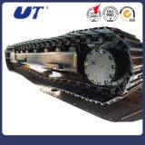クローラー掘削機は鋼鉄トラック下部構造を分ける