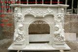 Mensola del camino del camino del marmo di disegno semplice (SY-MFP603)