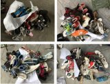 De mens gebruikte Schoenen/Dame Used Shoes/Kind gebruikte Schoenen voor de Markt van Afrika