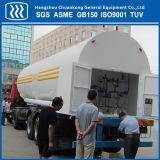 El CO2 líquido Semi Remolque Cisterna Tanque Transporte
