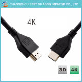 Golden Plated 4K 3D HDMI Cables with High Speed Support 2.0V1.4V