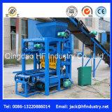 Bloco de cimento semiautomático da vibração do molde do modelo pequeno que faz a máquina