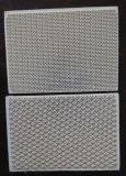 Favo de mel cerâmico da placa cerâmica infravermelha para Furnance