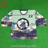 Le modèle neuf de Healong vêtx le hockey sur glace des hommes d'impression de Digitals Jersey