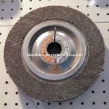 Истирательное колесо щитка с материалом алюминиевой окиси для полировать металла