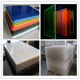 Plastiek die van de Kleur van de Plaat van het perspex het Fluorescente AcrylBlad gieten