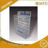 Pop up acrylique livre du caisson de rack d'affichage de stockage