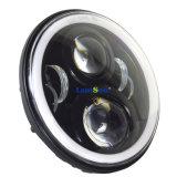 """J223 7 """" 50W runder Halo Ledlamp des Jeep-LED mit Winkel-Augen-SitzeWrangler Jk Cj Lj Tj Hummer Harley"""