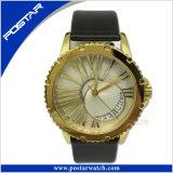 Form-Mann-Edelstahl-Quarz-Armbanduhr populärer