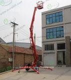 La batteria idraulica aerea ha articolato l'elevatore dell'asta da vendere