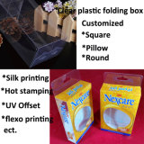 رخيصة سعر مصنع عالة بلاستيكيّة يعبّئ صندوق (يطوي صندوق)